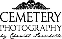 Cemetery Photography by Chantal Larochelle logo
